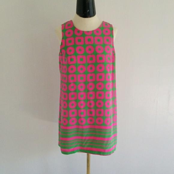 Amanda Uprichard Dresses & Skirts - AMANDA UPRICHARD pink and green silk mini dress